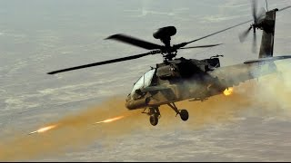 getlinkyoutube.com-AH-64 Apache Helicopter In Action - AH-64 Apache Airstrikes, AH-64 Firing At Tanks, Apache FLIR