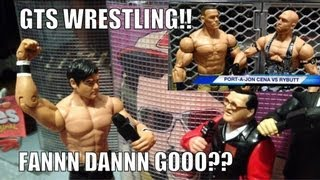 getlinkyoutube.com-GTS WRESTLING: Revenge of REMATCHAMANIA! Wrestling action figure matches WWE PARODY animation