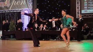 getlinkyoutube.com-Andrey Zaytsev - Elizaveta Cherevichnaya - PD LAT - Final Samba - DSFO 2015 Megeve