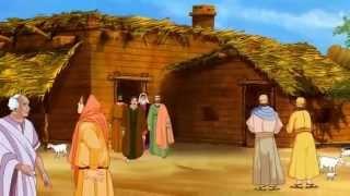 getlinkyoutube.com-Bible stories for kids  - Jesus heals Peter's Mother-in-law ( English Cartoon Animation )