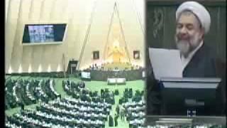 علیخانی در مجلس ، دولت احمدی نژاد فاسد ترین دولت هاست