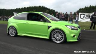 getlinkyoutube.com-430HP Ford Focus RS Wolf Racing - Acceleration with Backfiring Sound!