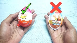 KINDER JOY  Vs Motu Patlu Egg