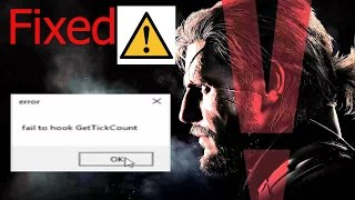getlinkyoutube.com-how to slove fail to hook get tick count in Metal Gear Solid V Ground Zeroes|ur indian geek|2016