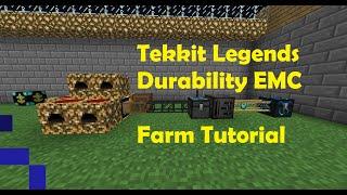 getlinkyoutube.com-Tekkit Legends: Duability EMC Farm Tutorial(Diamond Chestplate)