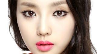 getlinkyoutube.com-체리핑크 매트립 포인트 메이크업_Cherry Pink Matte Lip Makeup