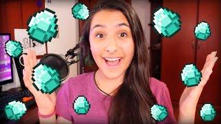 getlinkyoutube.com-Minecraft: LUCKY GAMES - LOTADA DE DIAMANTES! 1/2