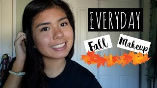 Everyday Fall Makeup Routine