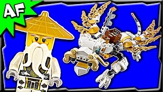 getlinkyoutube.com-Lego Ninjago MASTER WU DRAGON 70734 Ghost Army  Stop Motion Build Review