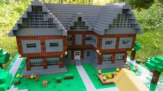 getlinkyoutube.com-LEGO Minecraft Steve's House
