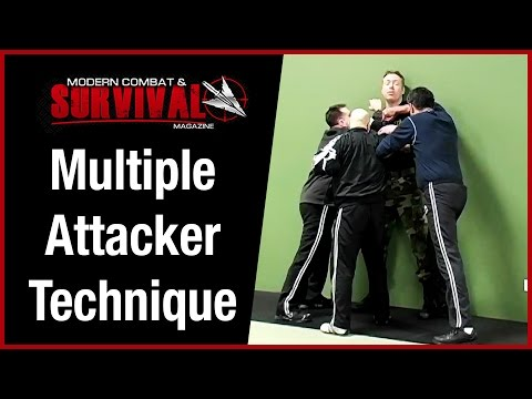 Self Defense Technique Against Multiple Attackers - Cornered