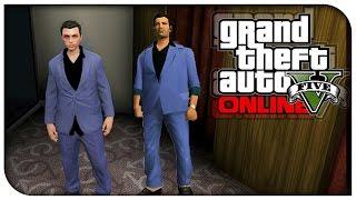 GTA 5 Online - FASHION FRIDAY! (Tommy Vercetti, CJ, Ryder & Claude) [GTA V Cool Outifts]