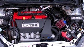getlinkyoutube.com-Turbo EP3 Civic SI 17psi Greddy Turbo Kit