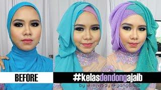 getlinkyoutube.com-Tips Tutorial Hijab Wajah Bulat Berpipi Chubby Untuk Pesta dan Wisuda | Inivindy