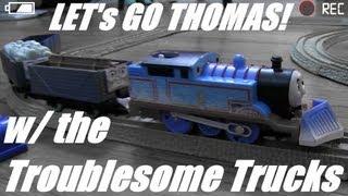 getlinkyoutube.com-Thomas the Tank Engine & The Troublesome Trucks! Trackmaster Playtime