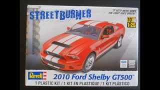 Revell 2010 Ford Shelby GT500 Mustang Model Kit Review @ SMKR