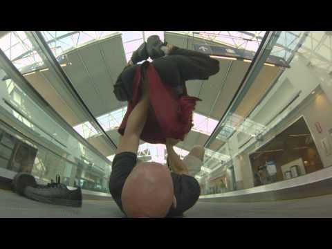 Portland Airport yogaFLIGHT + #WDS2013