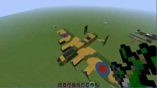 "getlinkyoutube.com-Minecraft-Mods Proviamo una mod Ep.1 ""Flan's Mod armi migliori aerei ecc.."""