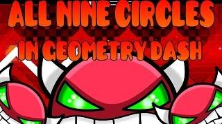 getlinkyoutube.com-All Nine Circles in Geometry Dash 1.9 (update)