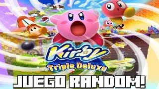 getlinkyoutube.com-JUEGO RANDOM! Kirby Triple Deluxe!