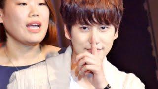 """getlinkyoutube.com-141111 - Kyuhyun ร้องเพลง """"ทุกอย่าง"""" ชาวเอลฟ์ซึ้งฟินมากเบย"""