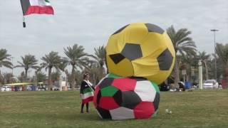 getlinkyoutube.com-يلي تحب الكويت ، Kuwait Kites Team show 17-2-2017