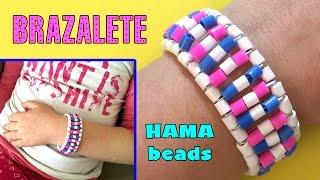 Brazalete o pulsera de hama beads