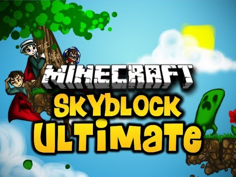 Minecraft Skyblock ULTIMATE Ep. 3 w/ Luclin & Wolv21 (HD)