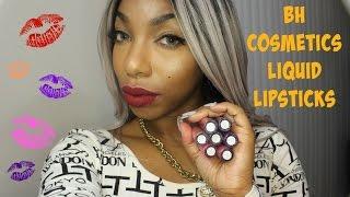 BH Cosmetics Liquid Lipsticks + Swatches ♡  KennySweets