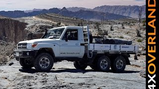 getlinkyoutube.com-Toyota Land Cruiser 6x6. Spectacular. Dubai-Oman. Part-1