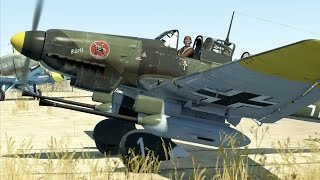 getlinkyoutube.com-IL-2:Battle of Stalingrad. Ju 87-G Kanonenvogel (modified D3)