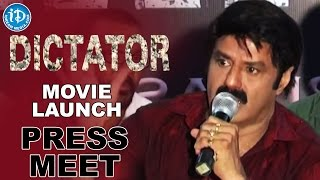 getlinkyoutube.com-Balakrishna's Dictator Movie Launched At D Ramanaidu Studios - Anjali || Sriwass || Thaman