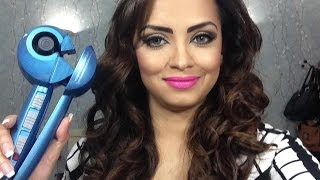 getlinkyoutube.com-How I Curl My Hair / Babyliss MiraCurl Pro Nano Titanium review