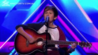 getlinkyoutube.com-Jai Waetford Different Worlds & Don't Let Me Go Auditions The X Factor Australia 2013