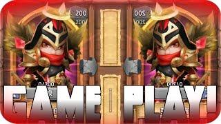 getlinkyoutube.com-Castle Clash New Hero Michael Game play!