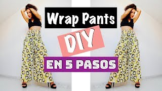 DIY | Wrap Pants en 5 pasos!