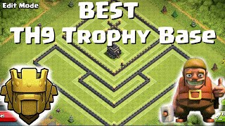 getlinkyoutube.com-Clash Of Clans - Town Hall 9 Titan (TH9) Titan BEST Trophy/Push Base / Anti 3 Star /New