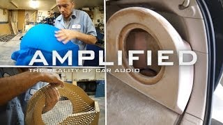 How to Build a Fiberglass Subwoofer Box, Lexus RX350 - Amplified #123
