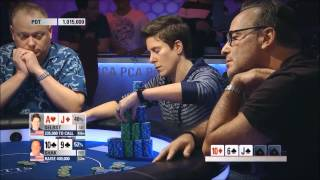 Vanessa Selbst vs Dan Shak at the 2014 PCA Super High Roller