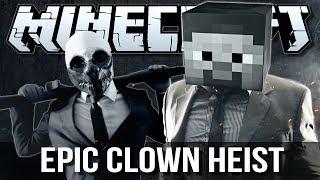 getlinkyoutube.com-EPIC CLOWN DIAMOND HEIST (PayDay) | Minecraft