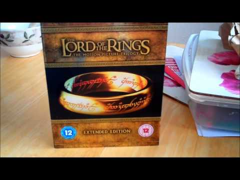 The Lord Of The Rings Extended Blu-Ray Edition. Unboxing and Review