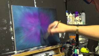 getlinkyoutube.com-Simple BackGround  ,Acrylic painting for beginners, #clive5art