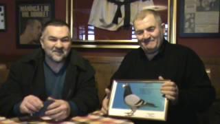 Maestrul columbofil Vasile Badin in vizita la campionul Leonard Doroftei Ploiesti Romania 4 feb 2017