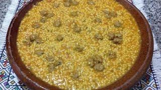 getlinkyoutube.com-طبق بركوكش , المردود أو بركوكس المغربي أكلة شتوية ومغذية و صحية  ( كسكس خشن) Barkoukech