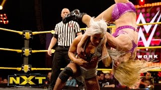 getlinkyoutube.com-Charlotte vs. Dana Brooke: WWE NXT, July 29, 2015
