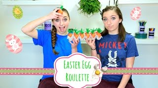 getlinkyoutube.com-Easter Egg Roulette | Brooklyn and Bailey