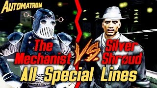 getlinkyoutube.com-Fallout 4 Automatron DLC - The Mechanist vs Silver Shroud - All Special Lines (Spoilers, duh)