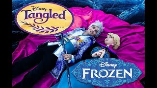 getlinkyoutube.com-Frozen & Rapunzel backstage