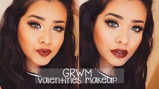 getlinkyoutube.com-GRWM   Valentines Day Makeup ❤️💄