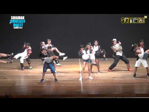 Television Mix   SHIAMAK'S Monsoon masti Batch   Mumbai 2012